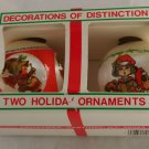 Rauch 70s Satin Ornaments VINTAGE OB Sleeved