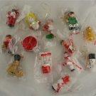 Set of Wood Ornaments-Taiwan-OP-Baker's Dozen