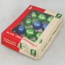1950s,60s Pkg Miniature Glass Balls-OP-Franke-Japan