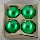 Shiny Brite 60/70s 3 Inch Glass Ornaments VINTAGE OB