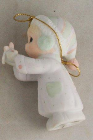Precious Moments Ornament 112372 Sending You A White Christmas