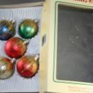 Commodore Romania 2-1/4 In Glass Ornaments VINTAGE OB