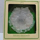 Holiday Highlights: Wreath 1980 Hallmark Keepsake