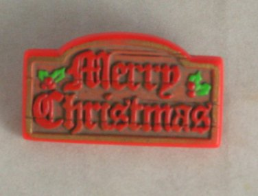 Hallmark Pin 1978-1980 Merry Christmas XLP50-3