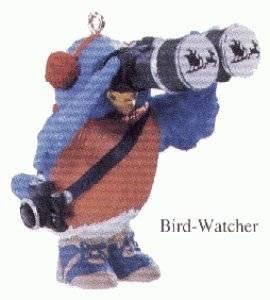 Bird Watcher 1993 Hallmark Keepsake Ornament QX5252
