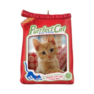 Purrfect Cat 2012 Hallmark Photo Frame Ornament