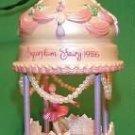 Christmas Classics Nutcracker Ballet 1st in the series 1986 hallmark ornament