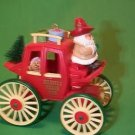 1988 Kringle Koach Here Comes Santa Hallmark Keepsake Ornament