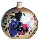 Harvest of Grapes Blown Glass 1999 Hallmark Ornament QBG6047