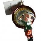 Christopher Radko Christmas Ornament 1999 Petite Millenium Clock