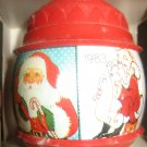 1983 Hallmark Keepsake Santa's Many Faces Ornament