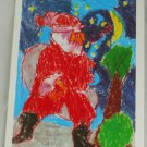 "POSTCARD 1998 Coca Cola #2 of 5 ""Santa"" Child Design"