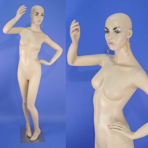 Brand New BLA-22N Flesh Tone Full Size Female Mannequin