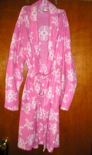 FREE SHIPPING Cute ROSE FREE SIZE ROBE GOWN PIJAMAS SLEEPWEAR