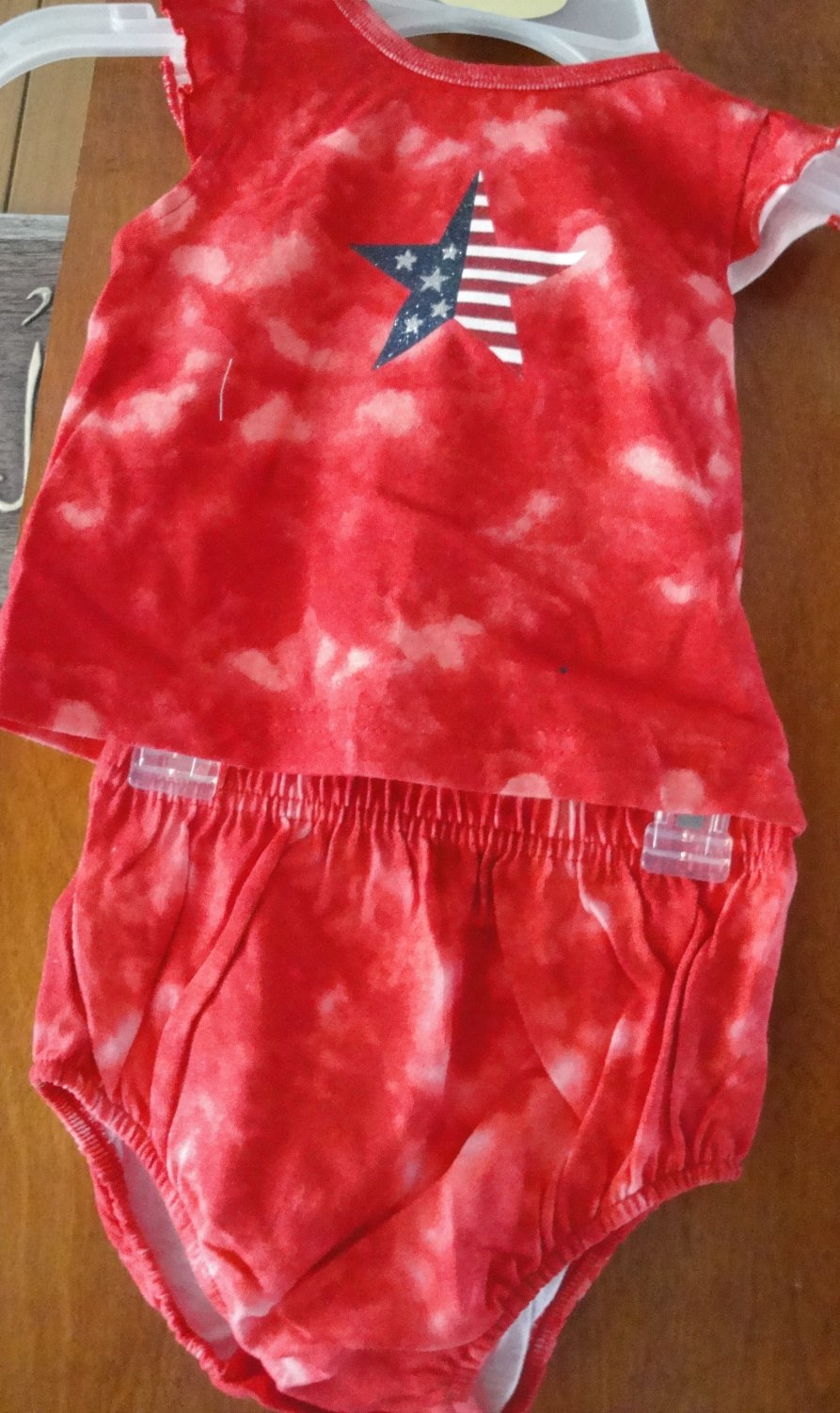 Free Shipping 12 MONTH BABY GIRL SET TANK AND BOTTOM  100% COTTON