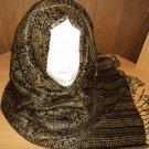 FREE SHIPPING Long shayla hijab shawl scarf neck wrap abaya Glittery