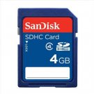 free ship NEW Sandisk 4GB SD HC SDHC Memory Card 4 GB 4G