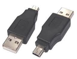 free ship NEW USB MALE to Mini USB 5 Pin  Adapter Converter