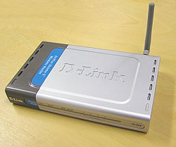 D-link AirPlus Xtreme G DI-624 108Mbps Wireless Router AC ADAPTER ,CD,EXCELLENT CONDITION