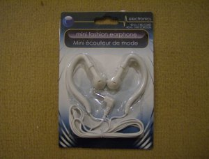 FREE SHIPPING  Mini Sport Fashion electronics white Earphones Earbuds Ipod Mp3 Audio
