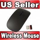2.4 GHz Wireless Optical Mouse For APPLE Macbook Mac Black free shipping
