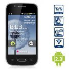 "free ship unlocked BLACK 4"" unlocked android 2.3 phone Smart Phone GSM dual sim GS 1ghz"