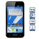 5.0 inch Dual Band Dual SIM Cell Phone with Touch Screen Dual Cameras Bluetooth black