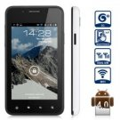 UNLOCKED  4.0 inch Android Smart Phone with Android 4.0 3G 1GHz WVGA Screen 5MP Camera,1GB (White)