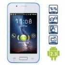 BLUE UNLOCKED 4.0 inch Android Smart Phone Android 2.3,dual camera,1ghz, free shipping worlwide