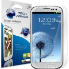 Tech Armor Samsung Galaxy S3 HD Screen Protector Lifetime Warranty 3 Pack Retail