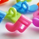 10 Musical Note Sewing Buttons