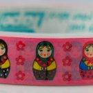 Kawaii Deco Tape - Russian Doll - Matryoshka - Pink