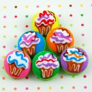 Small Cupcake Buttons