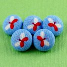 Small Butterfly Buttons