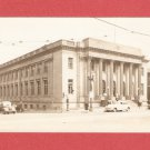 VINTAGE POST OFFICE RACINE WISCONSIN PHOTO POSTCARD