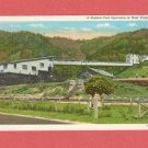 VINTAGE MODERN COAL OPERATION COAL MINE WEST VIRGINIA PHOTO POSTCARD