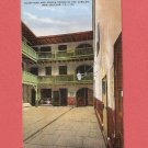 VINTAGE THE CABILDO COURTYARD AND PRISON ROOMS NEW ORLEANS COLOR POSTCARD