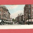 1908 MAIN STREET BROCKTON MASSACHUSETTS PHOTO POSTCARD