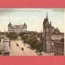 1907 NEW YORK STATE CAPITOL ST PETERS CHURCH COLOR POSTCARD