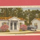 VINTAGE GREEN ACRES MOTOR COURT JACKSONVILLE FLORIDA COLOR POSTCARD