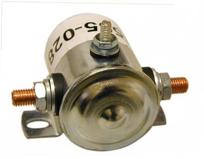 12 VOLT DC CONTINUAL SOLENOID, 3 POST, WHITE RODGERS