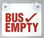 Bus Empty Sign