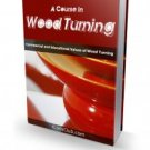 A Course In Wood Turning  E-Book