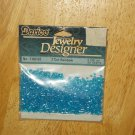 Blue 2 Cut Rainbow No 1102-02 Darice Jewelry Designer Beads 20 grams