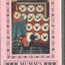 Flock of Sheep Mumms the Word Vintage Quilt Wall Hanging Debbie Mumm