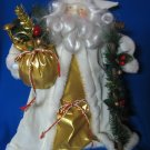 "Older.....Beautiful Old World Santa......15"" Tall"