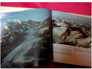 Beautiful Photo Book of Glacier Bay....Signed by the Author