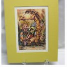 1981...Jody Bergsma Limited Edition Print...1665/7500....Friends