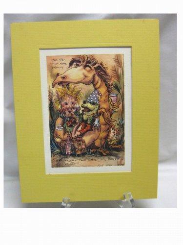 1981...Jody Bergsma Limited Edition Print...1665/7500....Friends