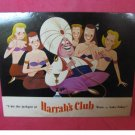 Vintage - Harrah's Casino Hotel Postcard with The Genie